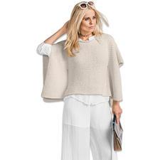 Modell 460/6, Cape aus Bandana Wool von Junghans-Wolle