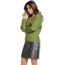 Modell 011/7, Damenpullover aus Varese von Junghans-Wolle