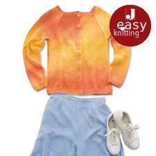 Modell 016/7, Jacke aus Pinta von Junghans-Wolle
