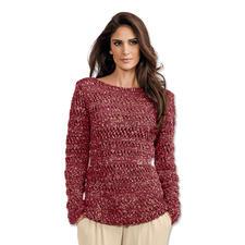 Modell 074/7, Pullover aus Metallico von Junghans-Wolle