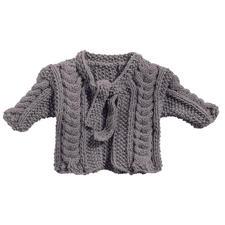 Anleitung 119/7, Babyjacke aus Merino-Classic von Junghans-Wolle