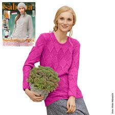 Anleitung 223/7, Damen Pullover aus Kaschmir von Junghans-Wolle