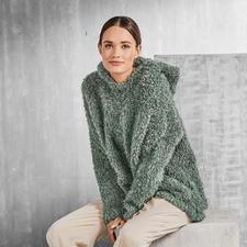 Anleitung 231/7, Damen Kapuzenpullover aus Pellini von Junghans-Wolle
