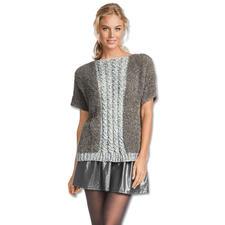 Anleitung 235/7, Damen Pulli aus Teddy® und Trevisa von Junghans-Wolle