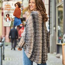 Anleitung 371/7, Damen Jacke aus Bandy Color von Woolly Hugs