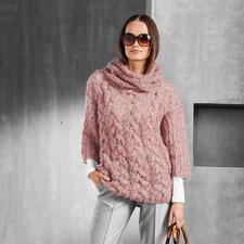 Anleitung 396/7, Damen Pullover aus Träumerei® von Junghans-Wolle