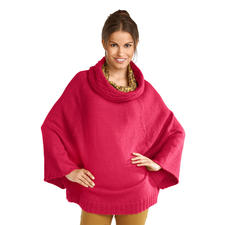 Anleitung 153/8, Cape-Pullover aus Peru von Junghans-Wolle