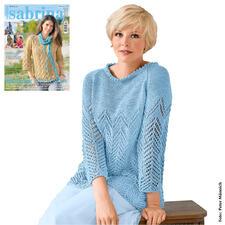 Anleitung 268/8, Damenpullover aus Bandana von Junghans-Wolle