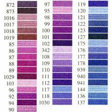 Anchor-Sticktwist lila/blau Sie haben eine riesige Farbauswahl. Mit mehreren hundert Farbnuancen haben Sie eine riesige Auswahl.