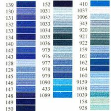 Anchor-Sticktwist blau Sie haben eine riesige Farbauswahl. Sie haben beste Bügeleigenschaften.