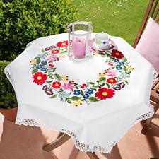 Tischdecke - Blumen
