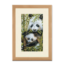 "Kreuzstichbilder ""Pandas"" oder ""Löwen"""