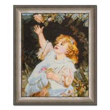 """Gobelinbild """"Out Of Reach"""" nach Frederick Morgan Meisterwerke grosser Künstler als Gobelinbild."""