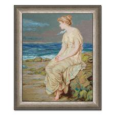 """Gobelinbild """"Der Sturm von Shakespeare"""" nach John William Waterhouse Meisterwerke grosser Künstler als Gobelinbild."""