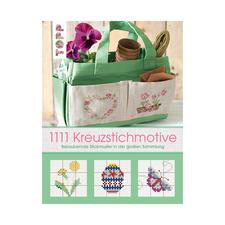 """Buch """"1111 Kreuzstichmotive"""" Stickbücher für Ihre eigenen kreativen Stickideen."""