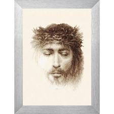 Stickbild - Jesus Kreuzstichbild Jesus