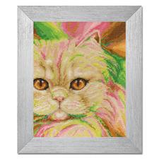 """Stickbild """"Perserkatze"""" Tierisch gut – Alles rund um die Katze."""