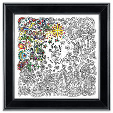 """Stickbild """"Nativity"""" Zenbroidery – Die Kunst des freien Stickens"""