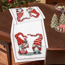 Tischläufer - Wichtel & Wichteline Weihnachts-Trend 2016: