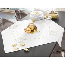 Tischwäsche-Serie - Engel Feine Tischwäsche aus Baumwollsatin.
