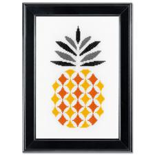 "Stickbild ""Ananas"" Modern Stitching -"