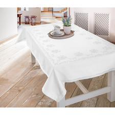 Feine Kreuzstich-Tischwäsche - Rosen – damit wird jeder Tisch zur festlichen Tafel.