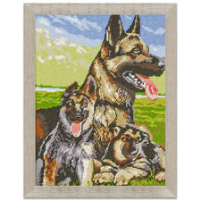 "Klassisches Gobelinbild ""Schäferhunde"""