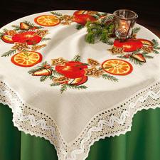 Tischdecke, Orangengesteck (Leider ausverkauft)