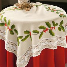 Tischdecke, Ilexborte (Leider ausverkauft)