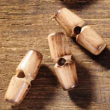 Holzknebel, Länge 30 mm, 1 Stück