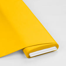 Meterware - Basic-Stoffe, Gelb Basic-Stoffe aus Baumwolle