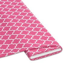 """Meterware """"Tiles"""", Pink Rosé & Bleu – Die Trendfarben des Jahres"""
