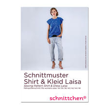 """Schnittmuster """"Shirt und Kleid Laisa"""" Die genialen Schnittmuster von schnittchen®"""