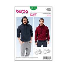 "Burda Schnitt 6718 ""Herrensweater""."
