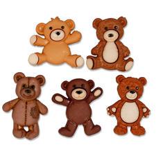 "Lustige Motivknöpfe ""Teddybären"" Lustige Motivknöpfe"
