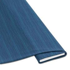 """Meterware Baumwoll-Jersey """"Streifen"""", Blau Baumwoll-Jersey – Der ideale Stoff für bequeme Shirts, Kleider und Kindermode."""