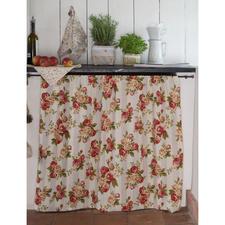 """Näh-Idee """"Kleiner Vorhang"""" Kleiner Vorhang: Näh-Idee aus dem Buch """"Liebevoll Genähtes für Balkon, Terrasse & Garten"""""""