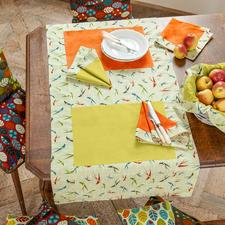 """Näh-Idee """"Tischläufer Indian Summer"""" Tischläufer: Näh-Idee aus dem Buch """"So geht's – Tischdecken, Tischsets & Servietten nähen"""""""