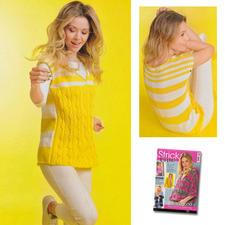 Pullunder aus Sabrina Special S 2482 Yellow Sunshine