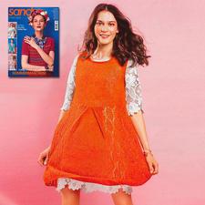 Weitschwingendes Kleid aus Sandra 2/17