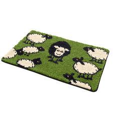 Fussmatte - Schafe Pflegeleichte Fussmatte Schafe.