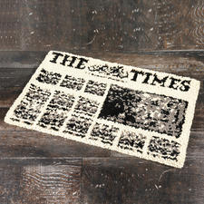 "Fussmatte - The Times Fussmatte ""The Times"""