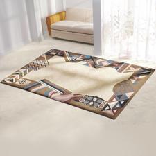 Teppich - Orissa Teppiche – mit geflammter Wolle geknüpft. Teppiche – mit geflammter Wolle geknüpft. Aus Berber- und Smyrna-Wolle.