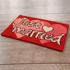 Fussmatte - Just married