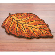 "Teppich ""Herbstblatt"""