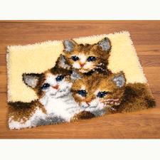 """Wandbehang """"3 Kätzchen"""""""