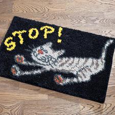 """Fussmatte """"Stop"""""""