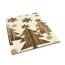 """Teppich """"Kiruna"""", 70 x 130 cm Teppich mit nordischen Motiven"""