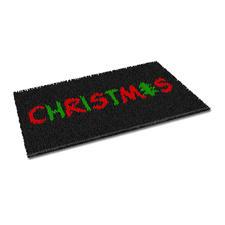 """Fussmatte """"Christmas"""" Weihnachtliche Fussmatte."""