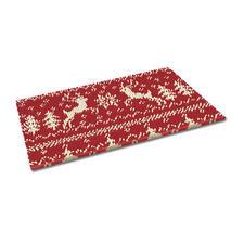 Fussmatte - Weihnachtszeit Weihnachtliche Fussmatte.